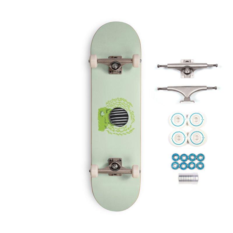 The Gate Accessories Skateboard by JordanaHeney Illustration