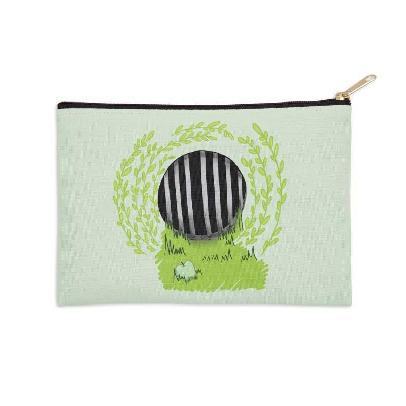 The Gate Accessories Zip Pouch by JordanaHeney Illustration