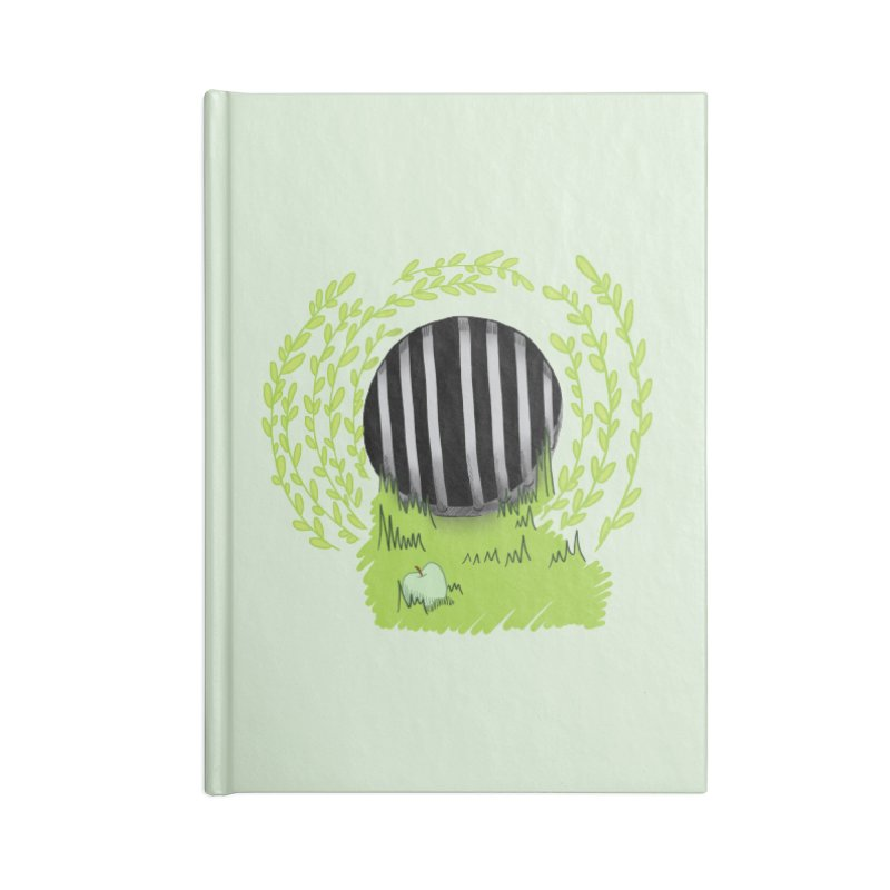 The Gate Accessories Lined Journal Notebook by JordanaHeney Illustration