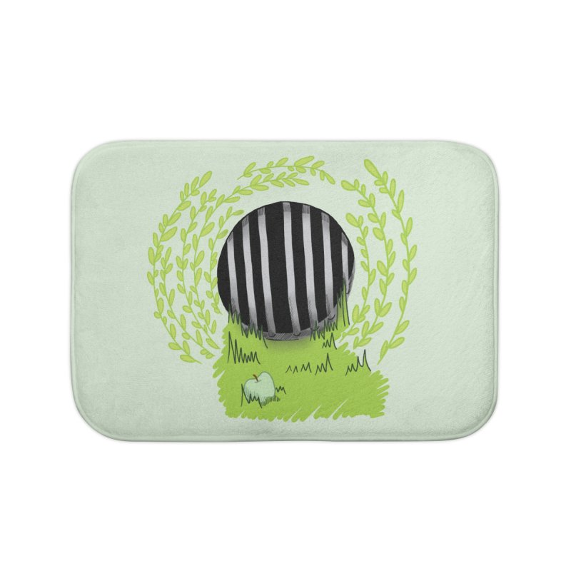 The Gate Home Bath Mat by JordanaHeney Illustration