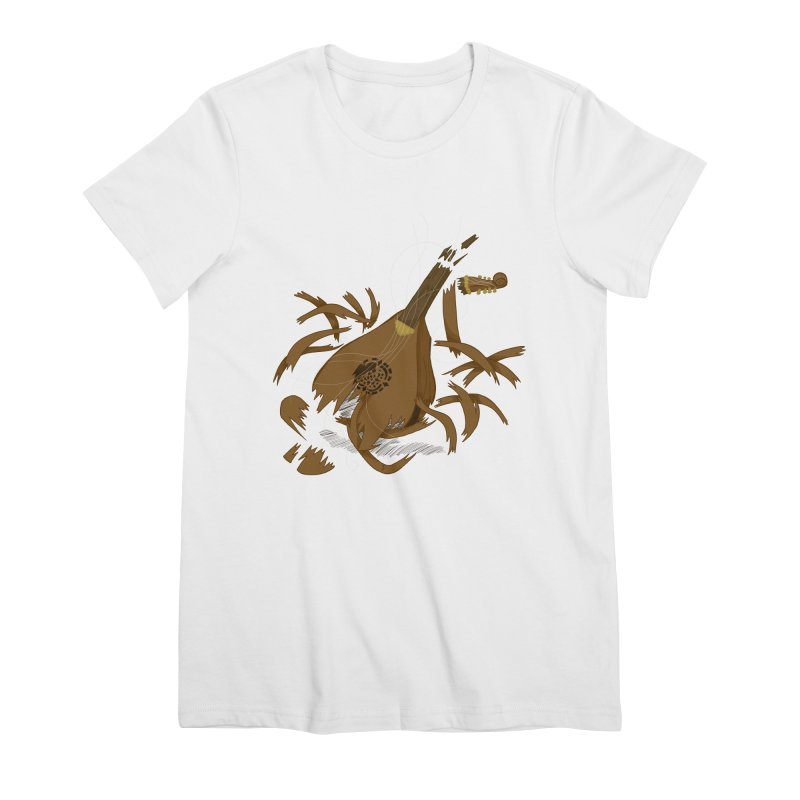 DeLuted Women's Premium T-Shirt by JordanaHeney Illustration