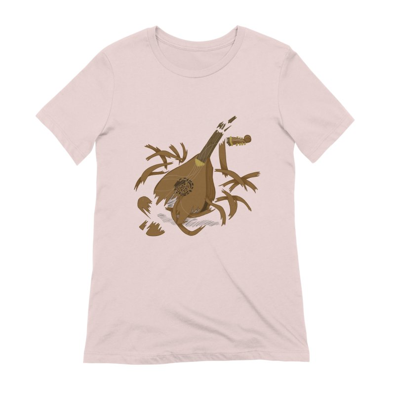 DeLuted Women's T-Shirt by JordanaHeney Illustration