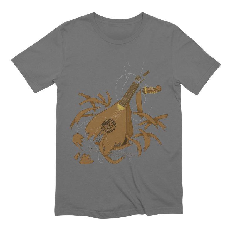 DeLuted Men's T-Shirt by JordanaHeney Illustration