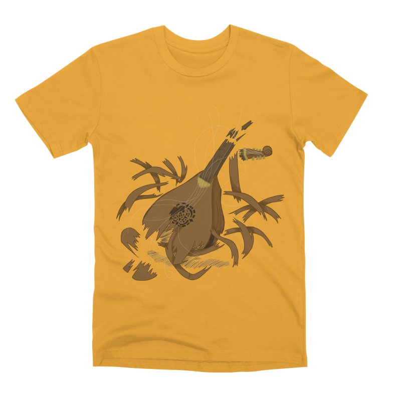 DeLuted Men's Premium T-Shirt by JordanaHeney Illustration