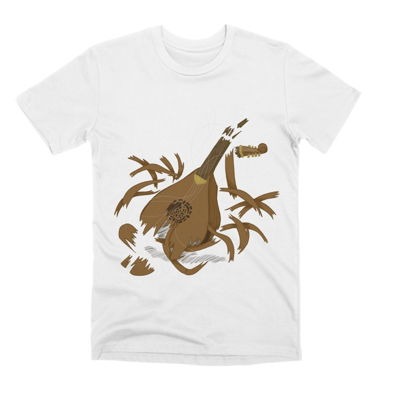 DeLuted Men's Premium T-Shirt by JordanaHeney Illustration