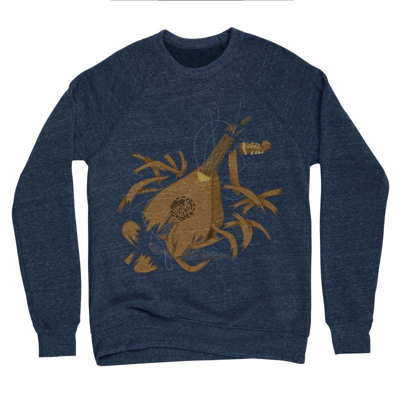 DeLuted Men's Sponge Fleece Sweatshirt by JordanaHeney Illustration