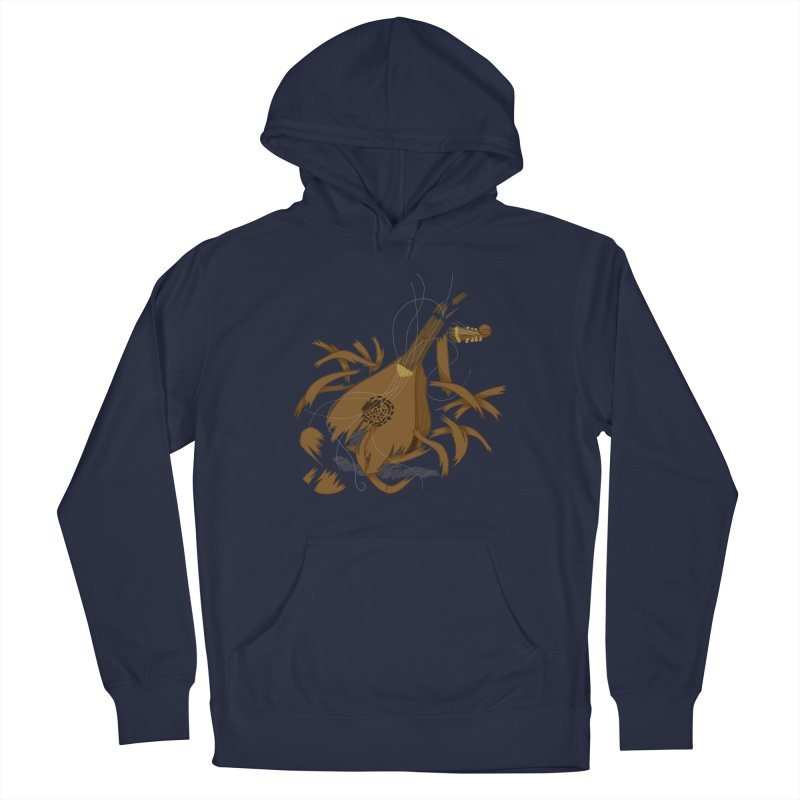DeLuted Men's Pullover Hoody by JordanaHeney Illustration