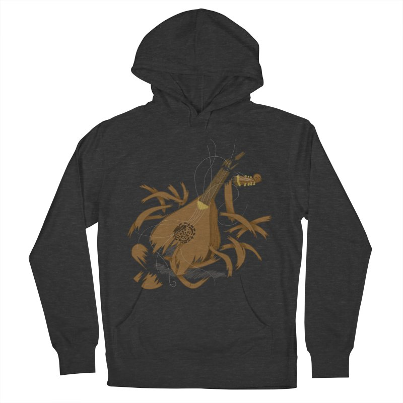 DeLuted Women's French Terry Pullover Hoody by JordanaHeney Illustration