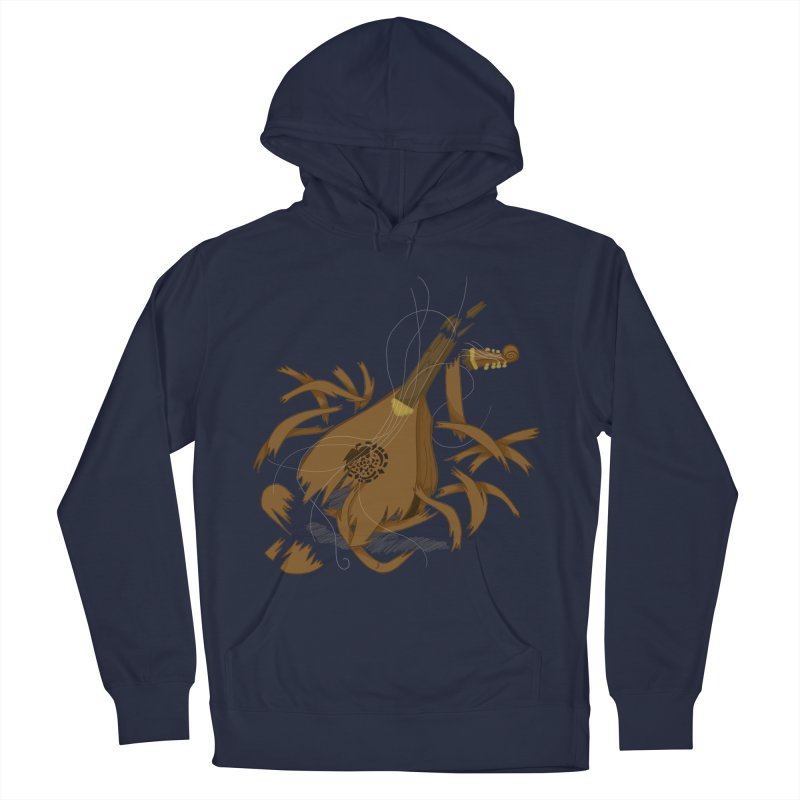 DeLuted Men's French Terry Pullover Hoody by JordanaHeney Illustration