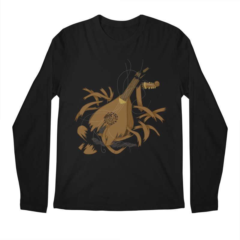 DeLuted Men's Longsleeve T-Shirt by JordanaHeney Illustration