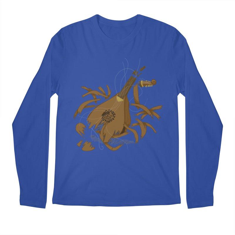DeLuted Men's Regular Longsleeve T-Shirt by JordanaHeney Illustration