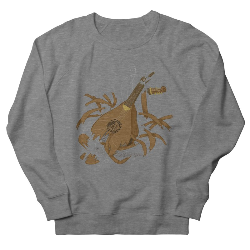 DeLuted Women's French Terry Sweatshirt by JordanaHeney Illustration