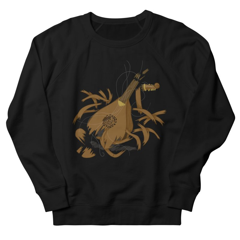DeLuted Men's French Terry Sweatshirt by JordanaHeney Illustration