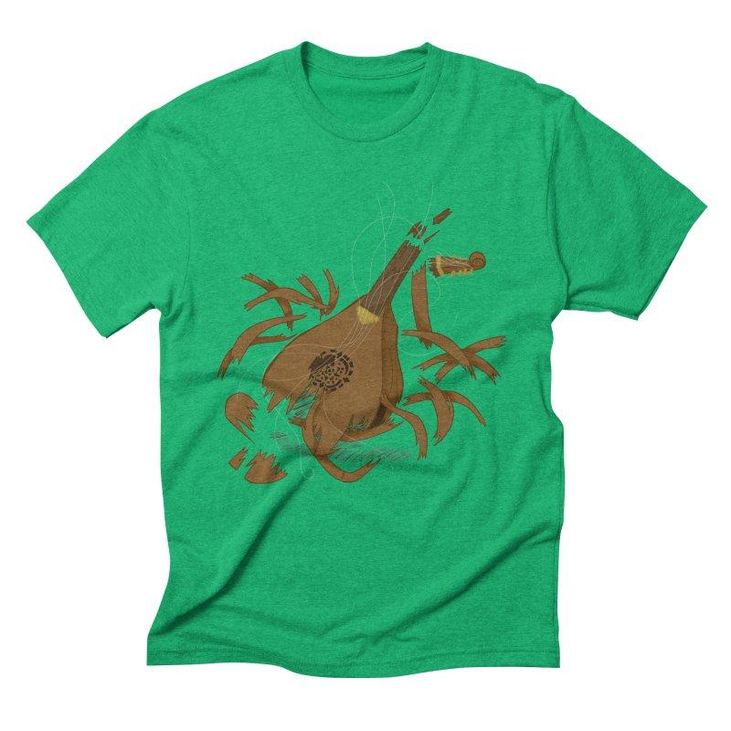 DeLuted Men's Triblend T-Shirt by JordanaHeney Illustration
