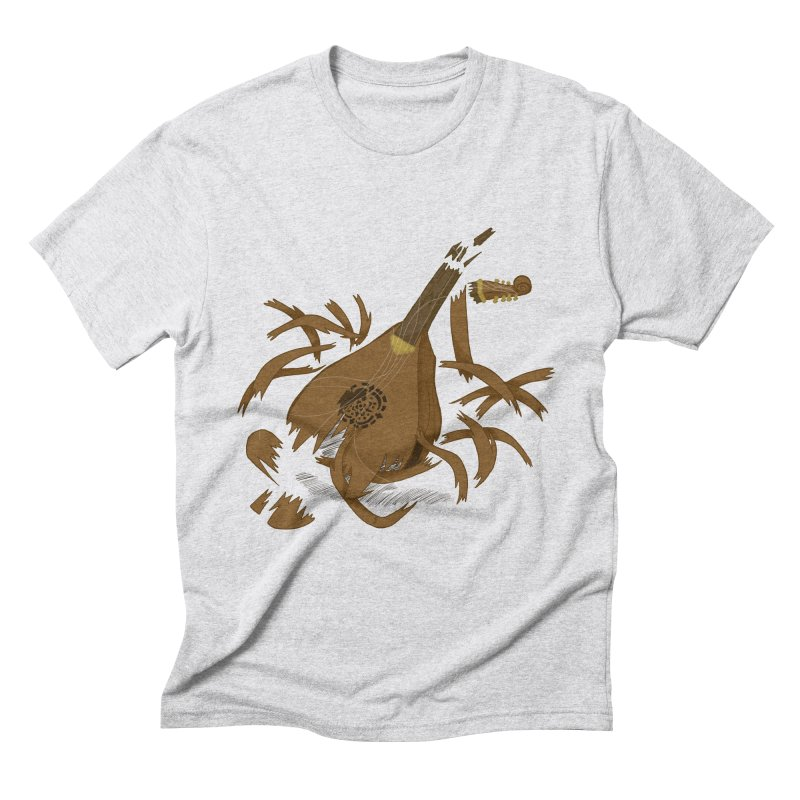 DeLuted Men's Triblend T-Shirt by JordanaHeney Illustration
