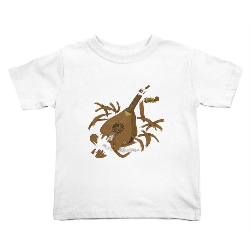 DeLuted Kids Toddler T-Shirt by JordanaHeney Illustration
