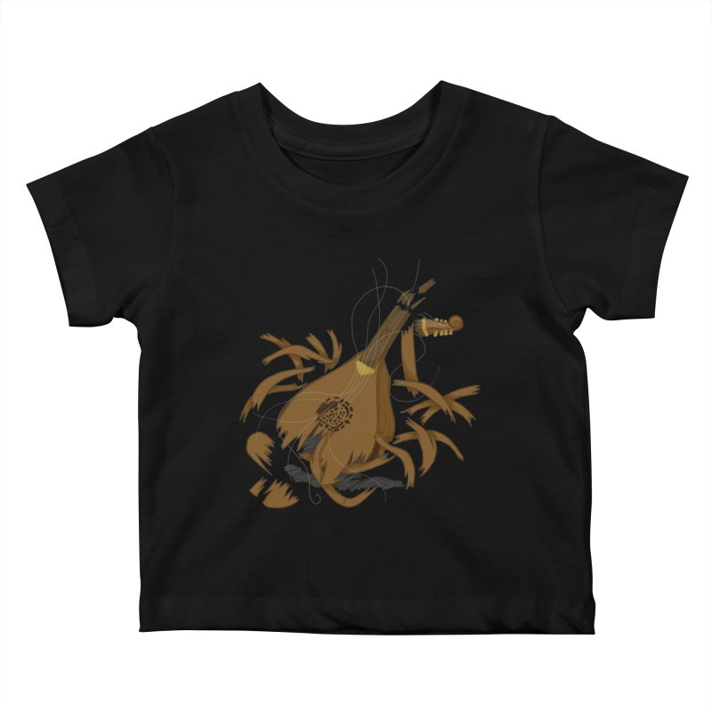 DeLuted Kids Baby T-Shirt by JordanaHeney Illustration