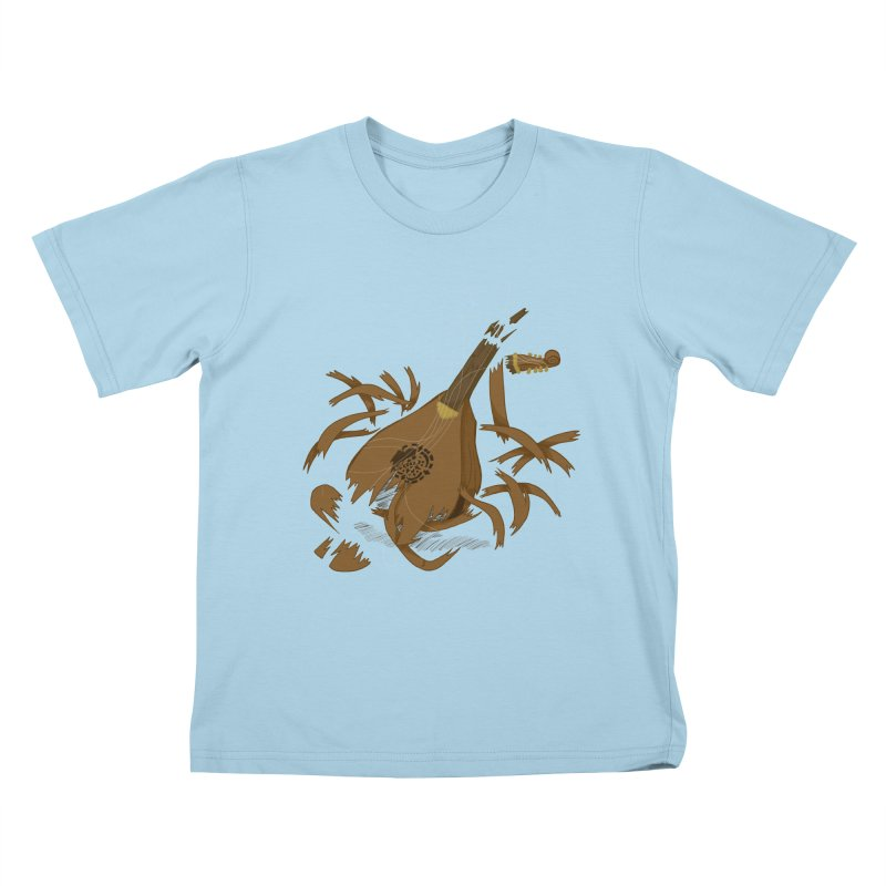 DeLuted Kids T-Shirt by JordanaHeney Illustration