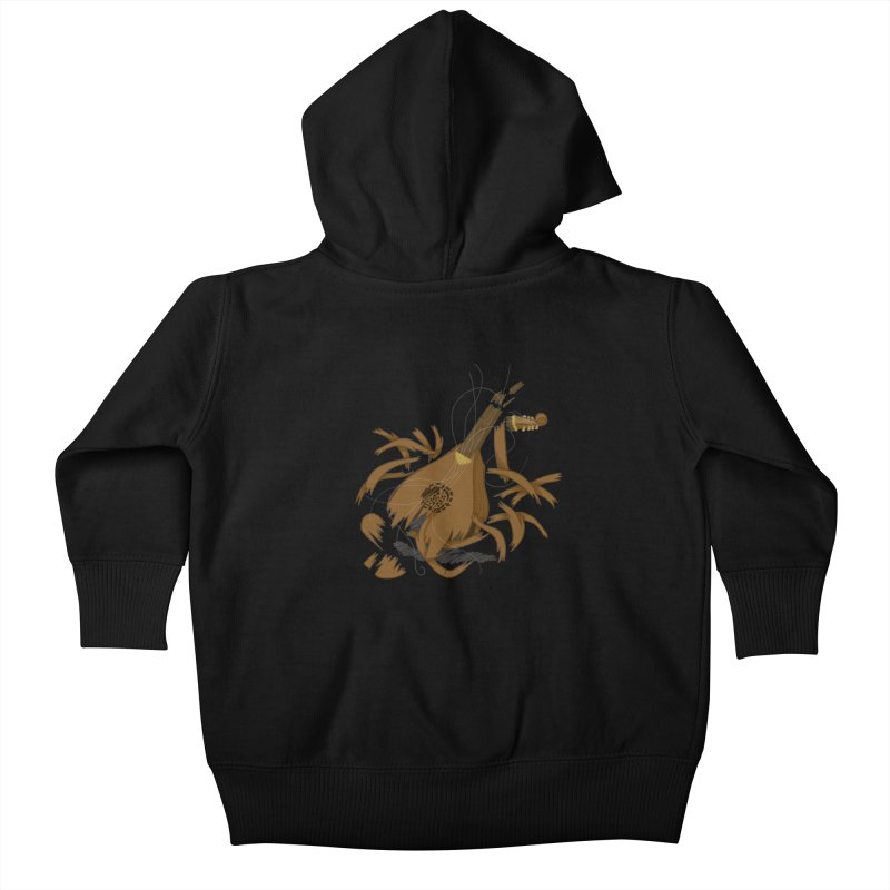 DeLuted Kids Baby Zip-Up Hoody by JordanaHeney Illustration