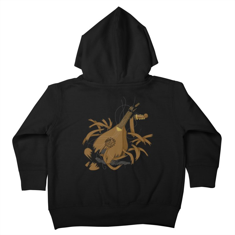 DeLuted Kids Toddler Zip-Up Hoody by JordanaHeney Illustration