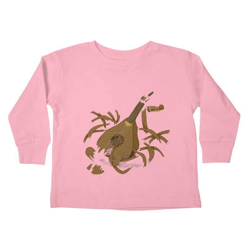 DeLuted Kids Toddler Longsleeve T-Shirt by JordanaHeney Illustration