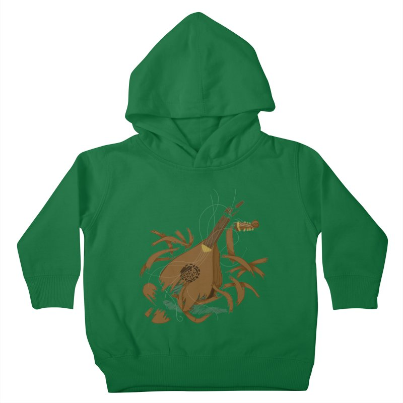 DeLuted Kids Toddler Pullover Hoody by JordanaHeney Illustration