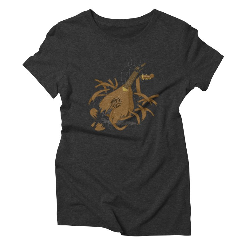 DeLuted Women's Triblend T-Shirt by JordanaHeney Illustration
