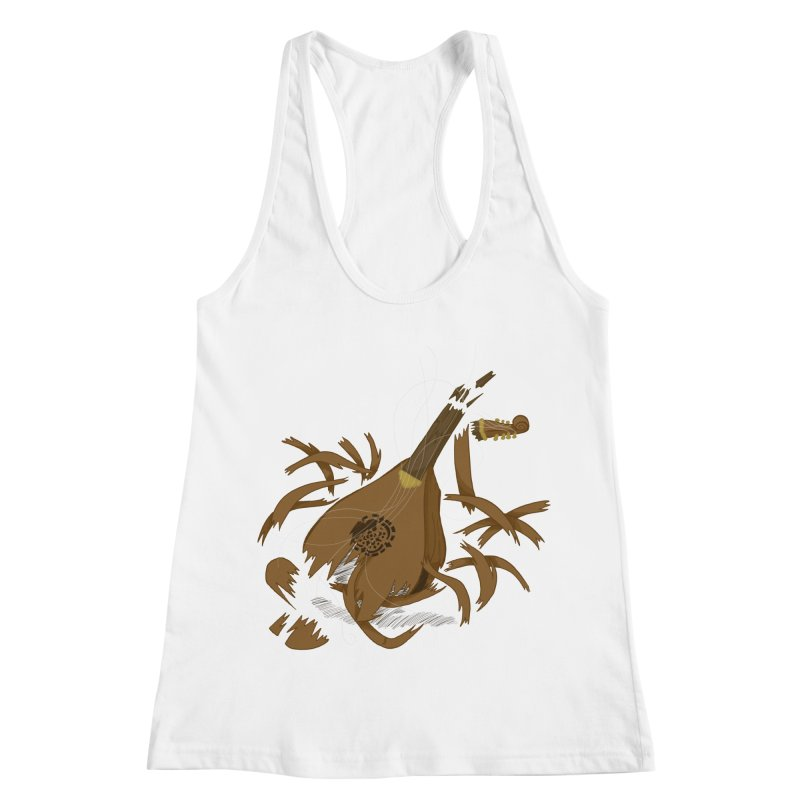 DeLuted Women's Racerback Tank by JordanaHeney Illustration