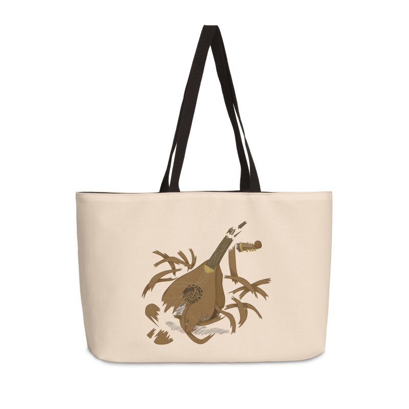 DeLuted Accessories Weekender Bag Bag by JordanaHeney Illustration