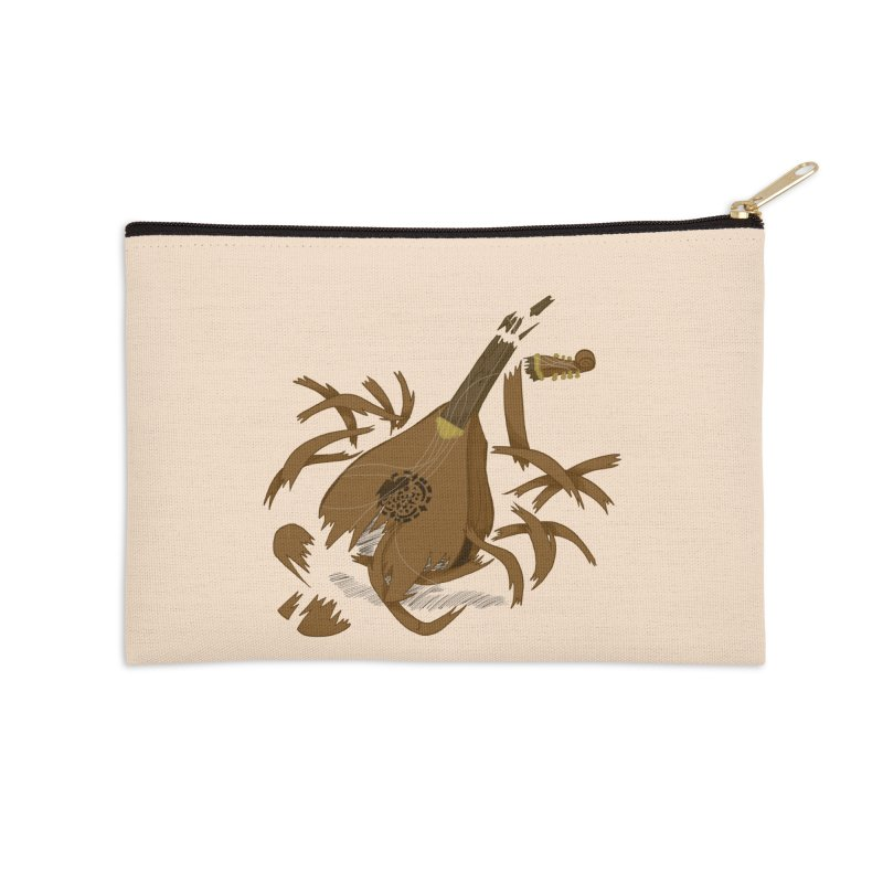 DeLuted Accessories Zip Pouch by JordanaHeney Illustration