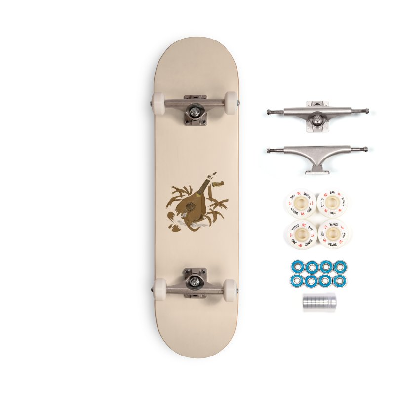 DeLuted Accessories Complete - Premium Skateboard by JordanaHeney Illustration