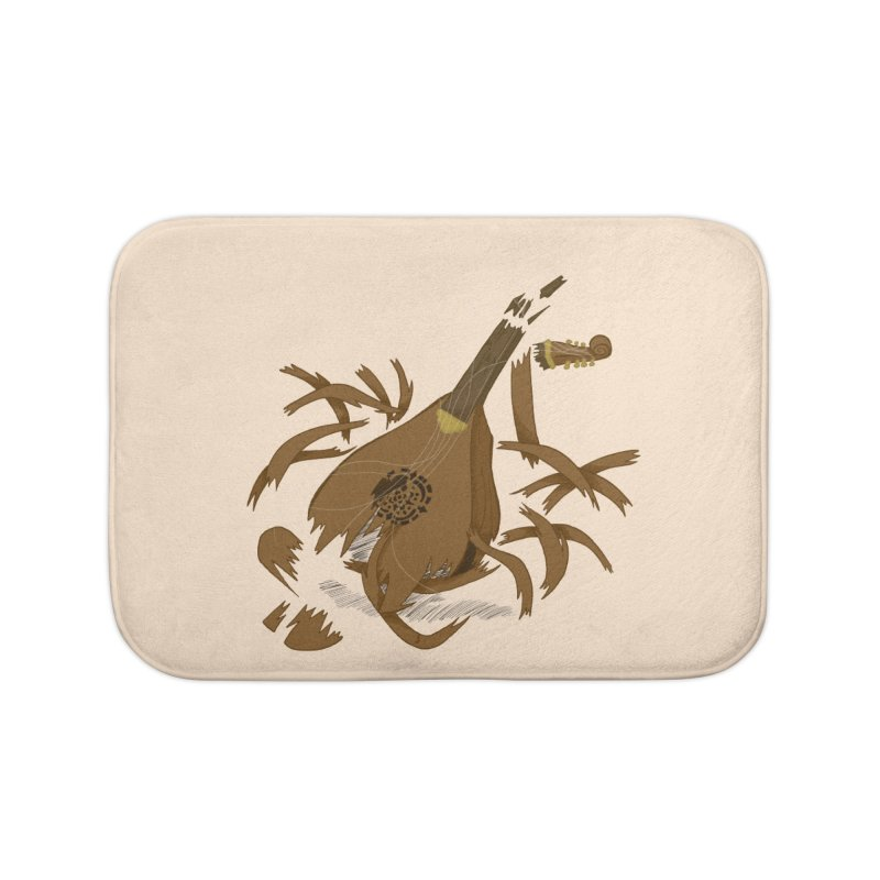 DeLuted Home Bath Mat by JordanaHeney Illustration