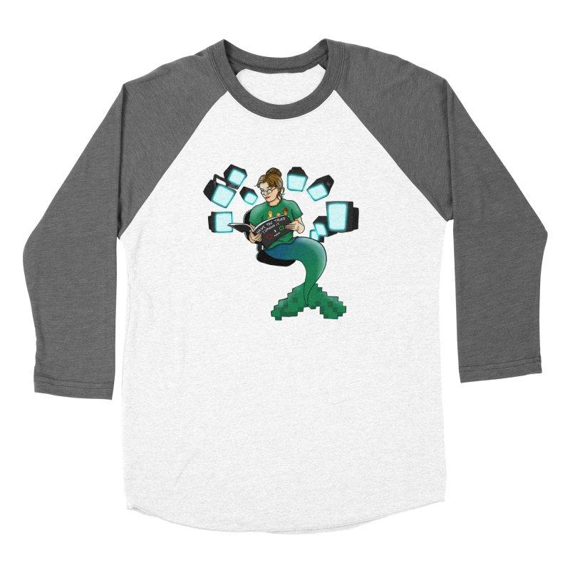 Geek Mermaid Women's Longsleeve T-Shirt by JordanaHeney Illustration