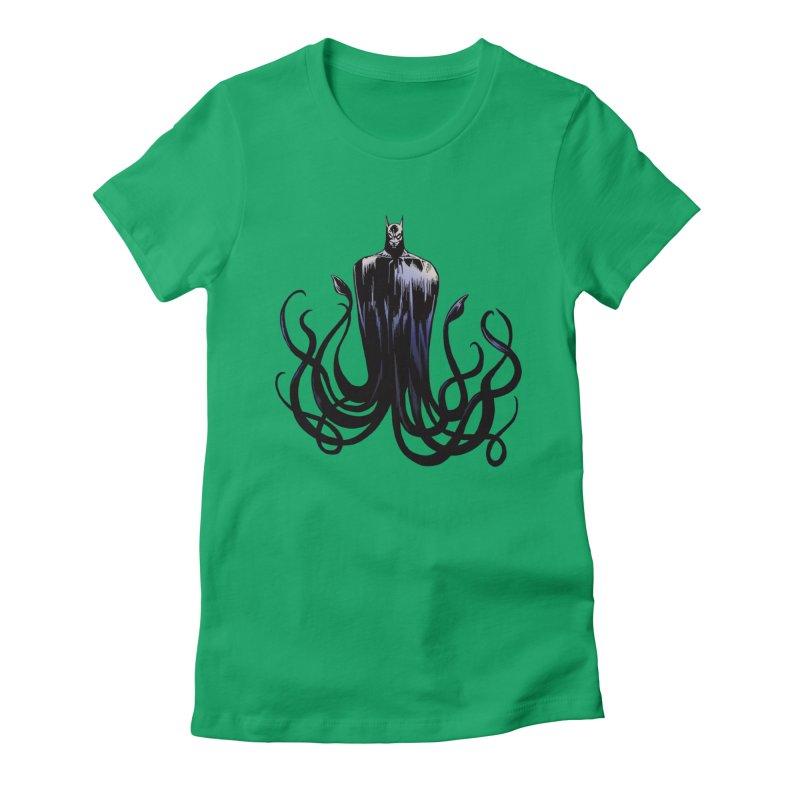 Aquabat Women's Fitted T-Shirt by JordanaHeney Illustration