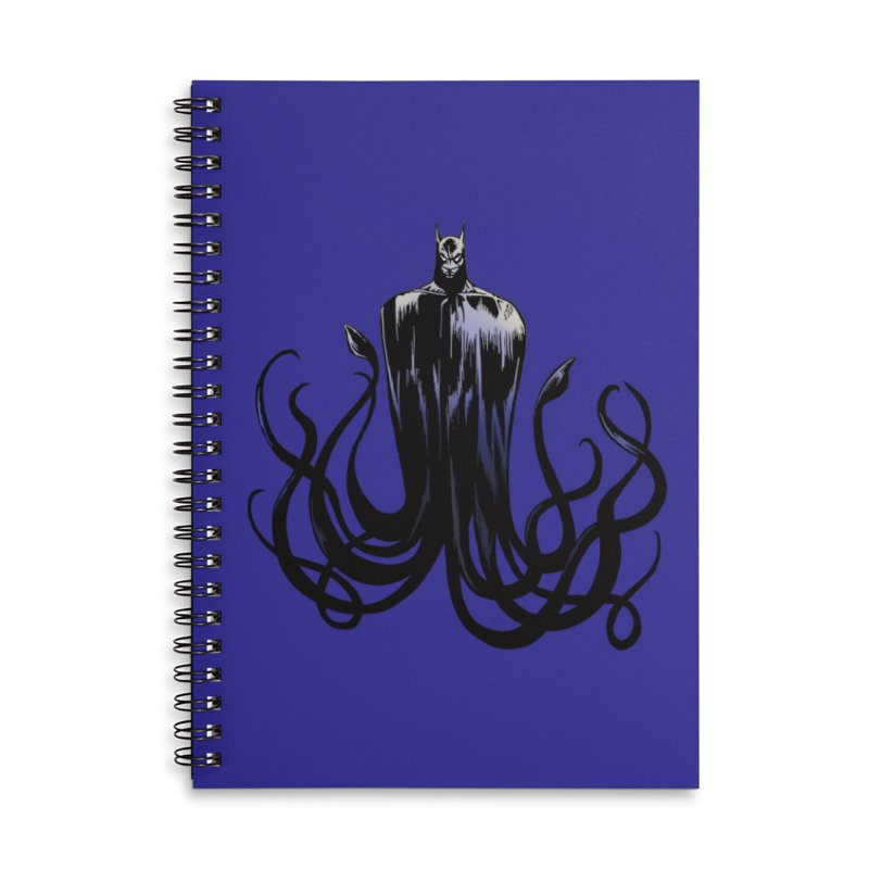 Aquabat Accessories Lined Spiral Notebook by JordanaHeney Illustration