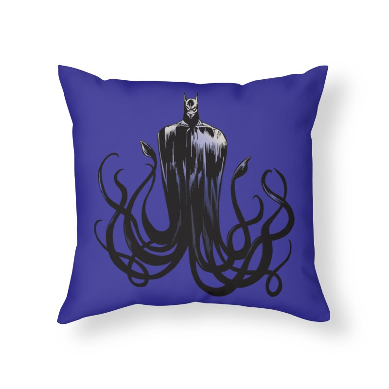 Aquabat Home Throw Pillow by JordanaHeney Illustration