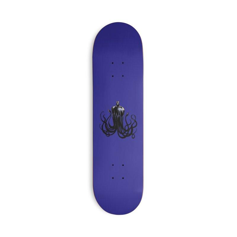 Aquabat Accessories Skateboard by JordanaHeney Illustration