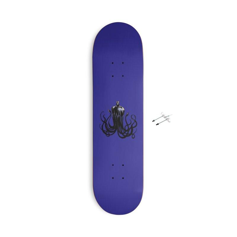 Aquabat Accessories With Hanging Hardware Skateboard by JordanaHeney Illustration