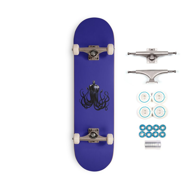 Aquabat Accessories Skateboard by JordanaHeney Illustration