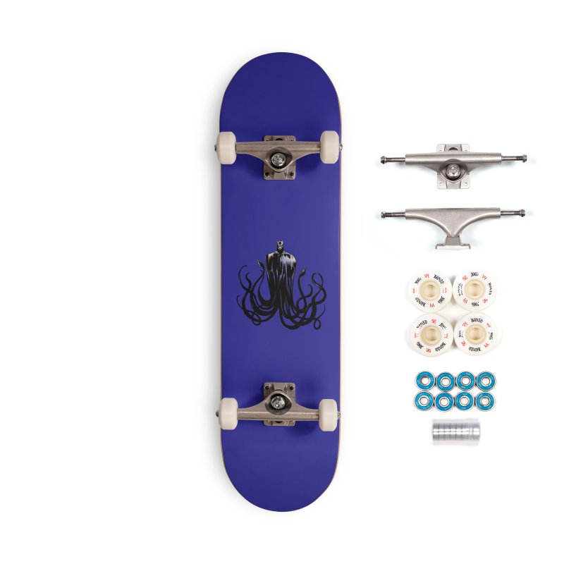 Aquabat Accessories Complete - Premium Skateboard by JordanaHeney Illustration