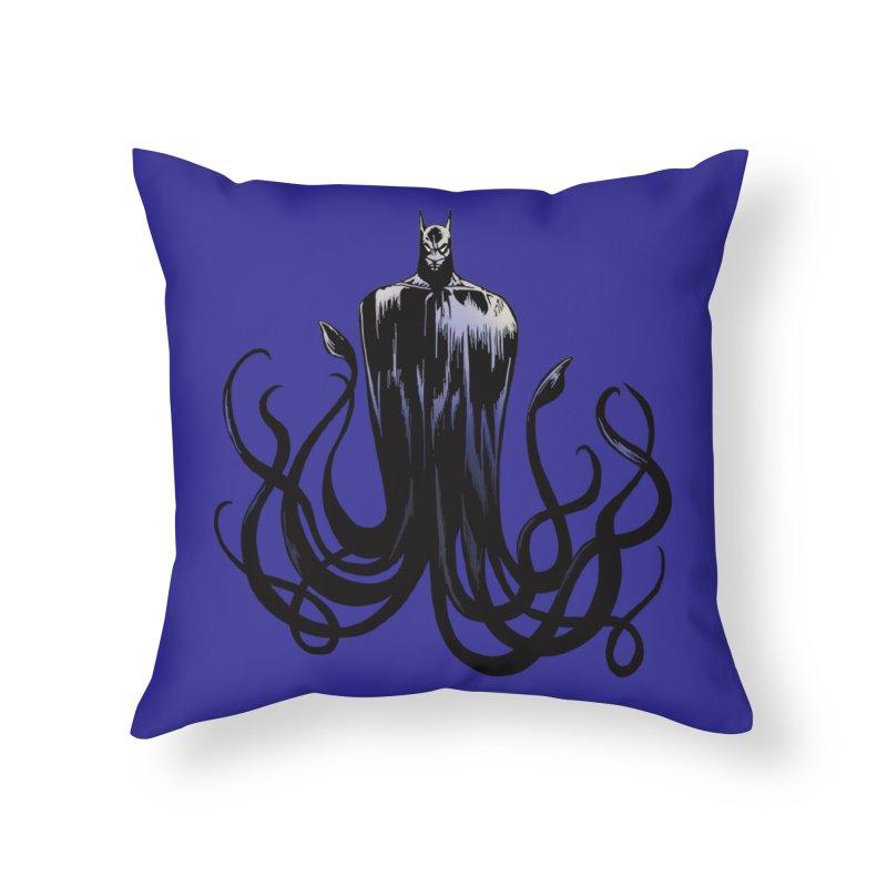 Aquabat Home Throw Pillow by JordanaHeney Illustration