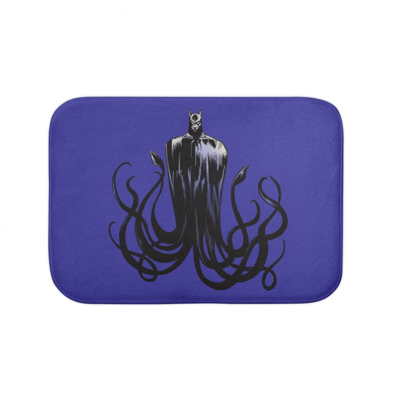 Aquabat Home Bath Mat by JordanaHeney Illustration