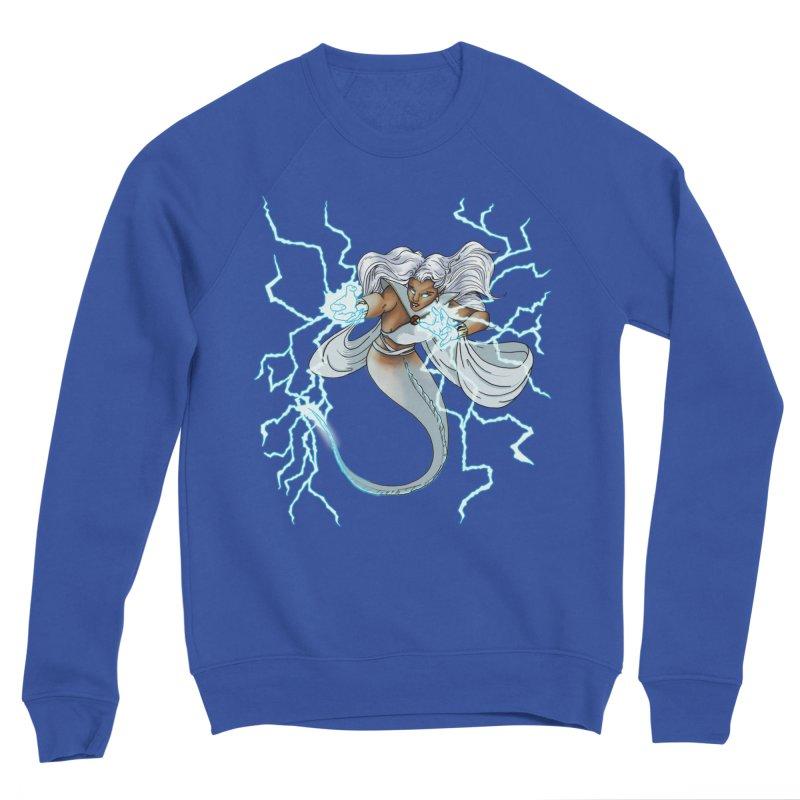 Thunderwater Men's Sweatshirt by JordanaHeney Illustration