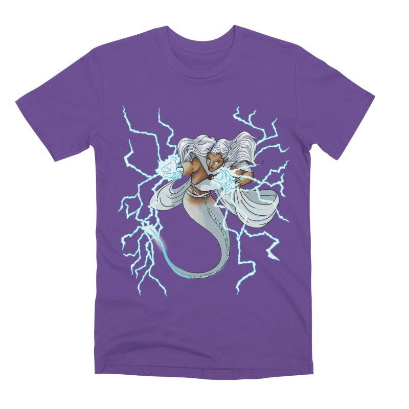 Thunderwater Men's Premium T-Shirt by JordanaHeney Illustration