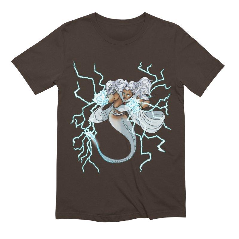 Thunderwater Men's Extra Soft T-Shirt by JordanaHeney Illustration