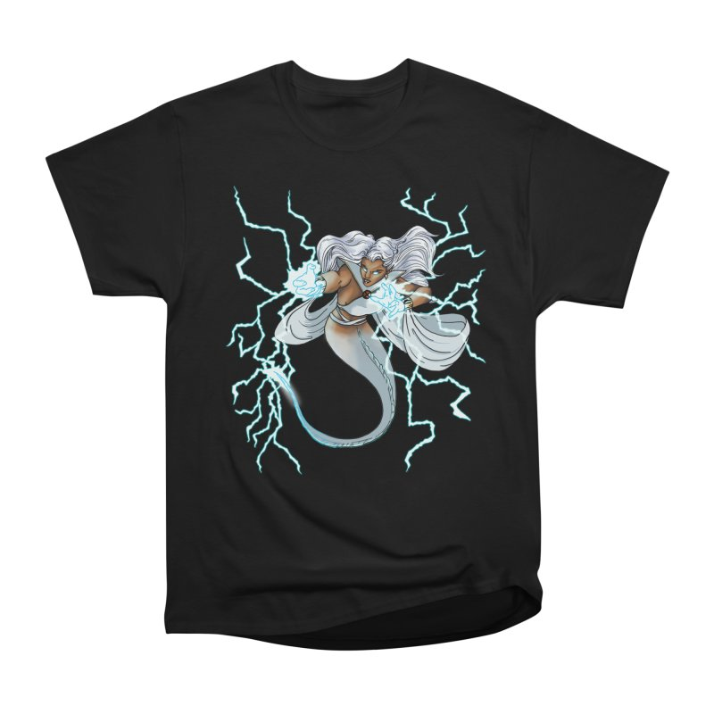 Thunderwater Men's Heavyweight T-Shirt by JordanaHeney Illustration