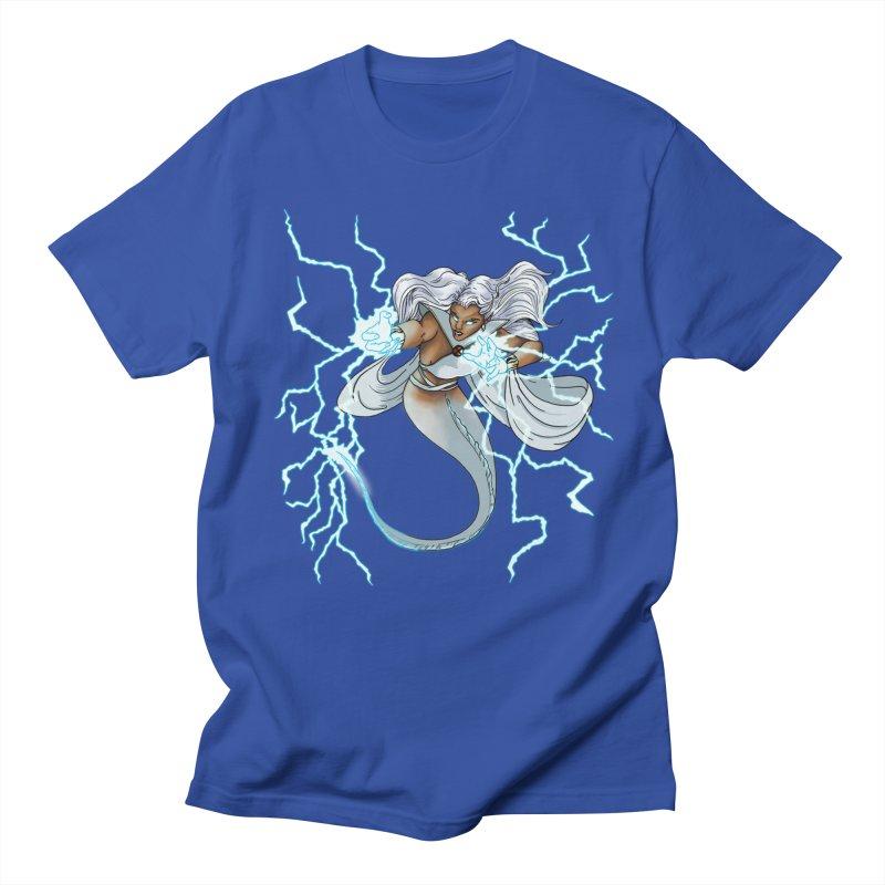 Thunderwater Women's Regular Unisex T-Shirt by JordanaHeney Illustration