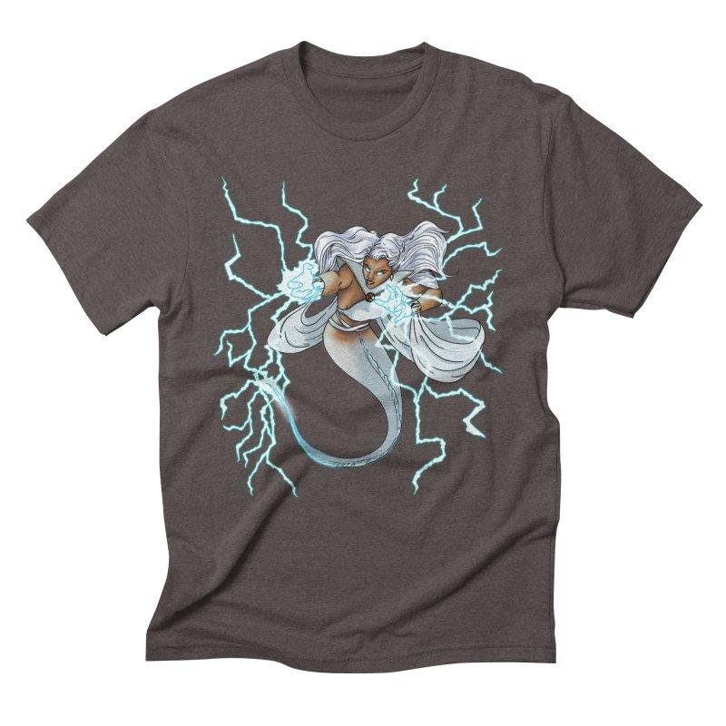 Thunderwater Men's Triblend T-Shirt by JordanaHeney Illustration