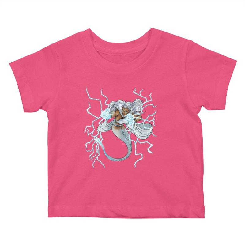 Thunderwater Kids Baby T-Shirt by JordanaHeney Illustration
