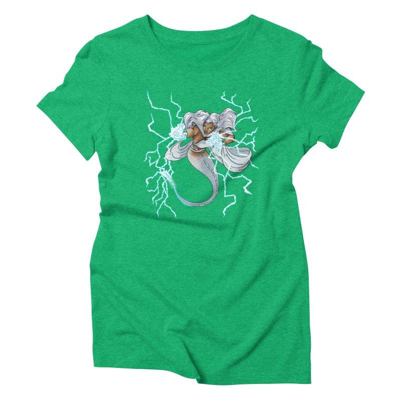 Thunderwater Women's Triblend T-Shirt by JordanaHeney Illustration